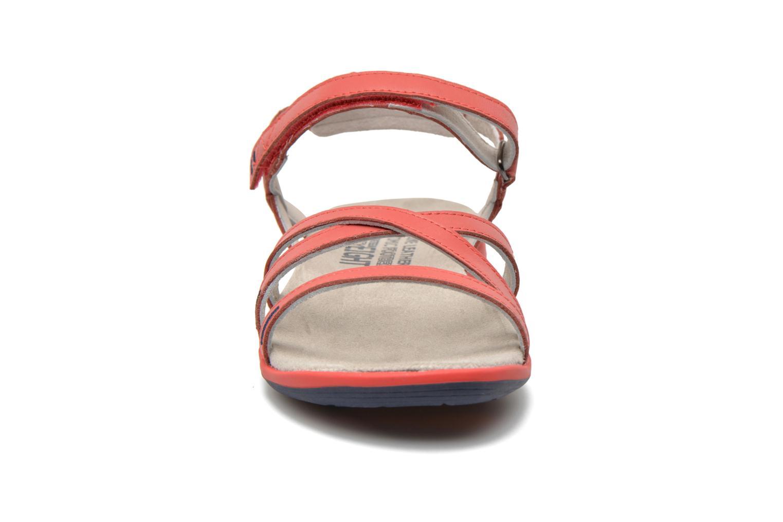 Sandales et nu-pieds TBS Rosita Rouge vue portées chaussures
