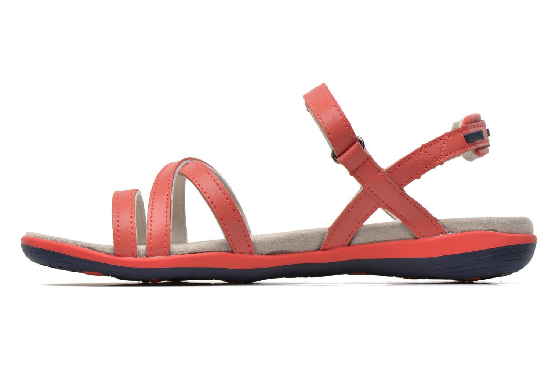 Sandales et nu-pieds TBS Rosita Rouge vue face