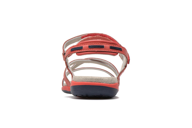 Sandales et nu-pieds TBS Rosita Rouge vue droite