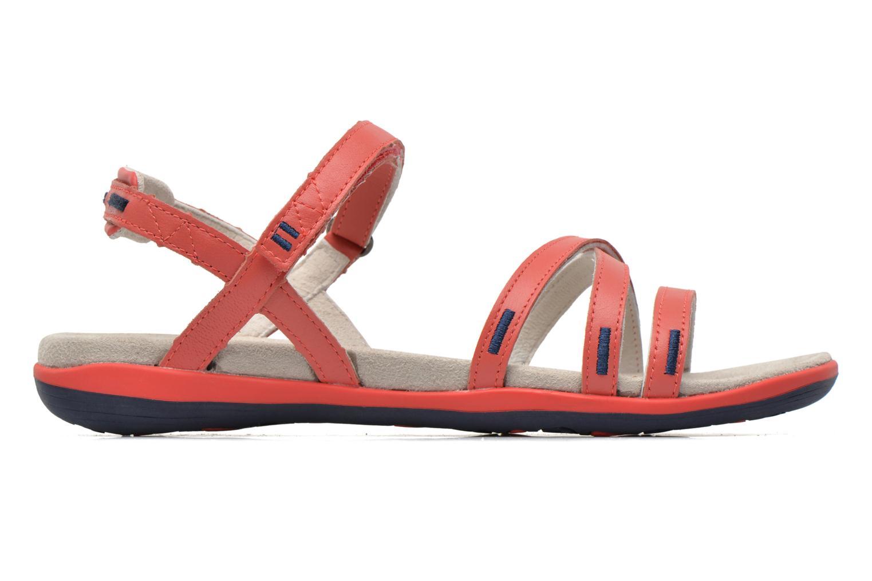 Sandales et nu-pieds TBS Rosita Rouge vue derrière