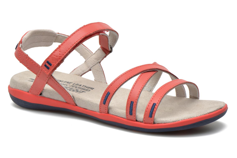 Sandales et nu-pieds TBS Rosita Rouge vue détail/paire