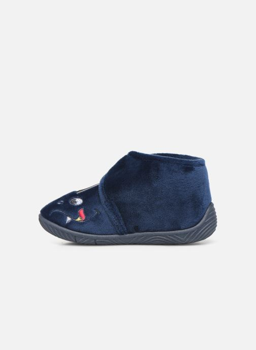 Slippers Chicco twist Blue front view