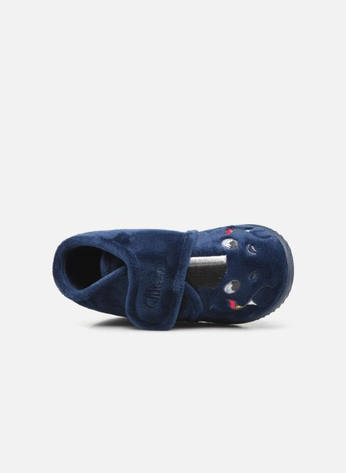 Slippers Chicco twist Blue view from the left