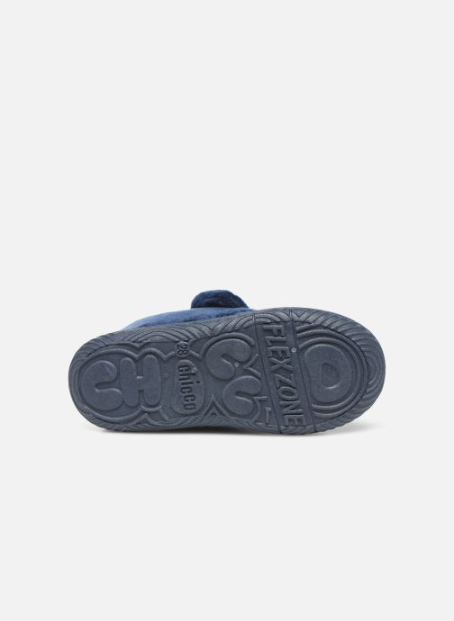 Slippers Chicco twist Blue view from above
