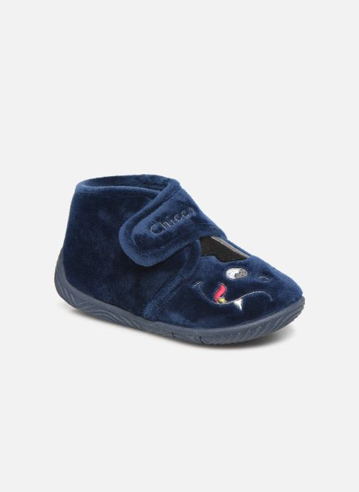 Slippers Chicco twist Blue detailed view/ Pair view