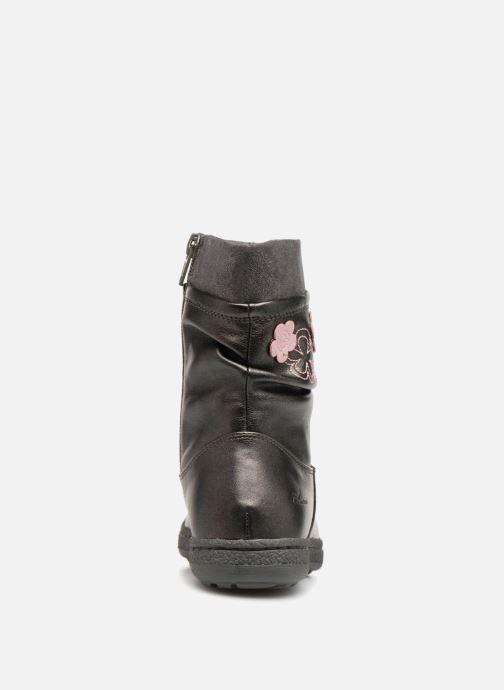 Sandales et nu-pieds Chicco clara Gris vue droite