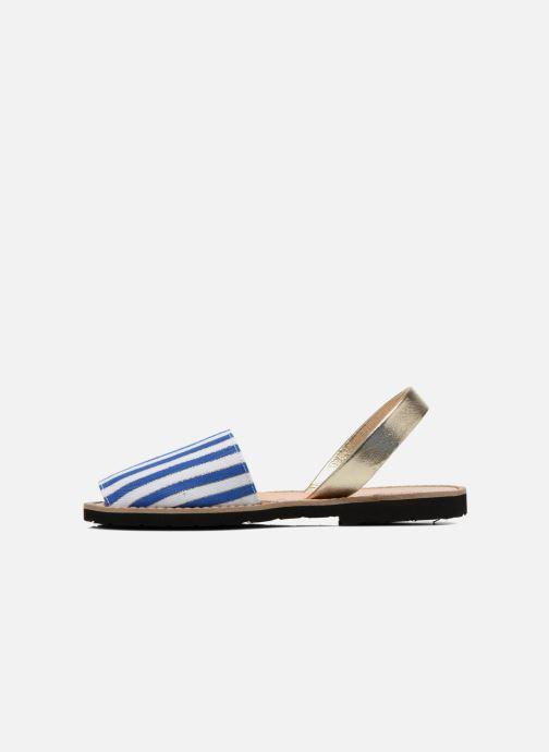 Sandales et nu-pieds MINORQUINES Avarca Multicolore vue face