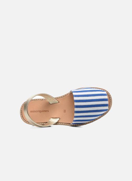 Sandales et nu-pieds MINORQUINES Avarca Multicolore vue gauche