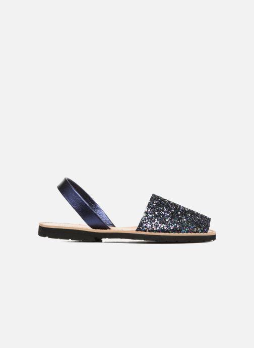 Sandales et nu-pieds MINORQUINES Avarca Bleu vue derrière