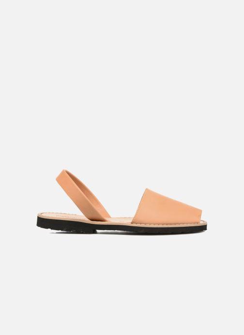 Sandalen Minorquines Avarca beige ansicht von hinten