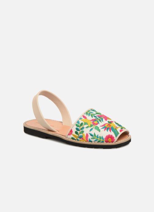 Sandales et nu-pieds Minorquines Avarca Multicolore vue détail/paire