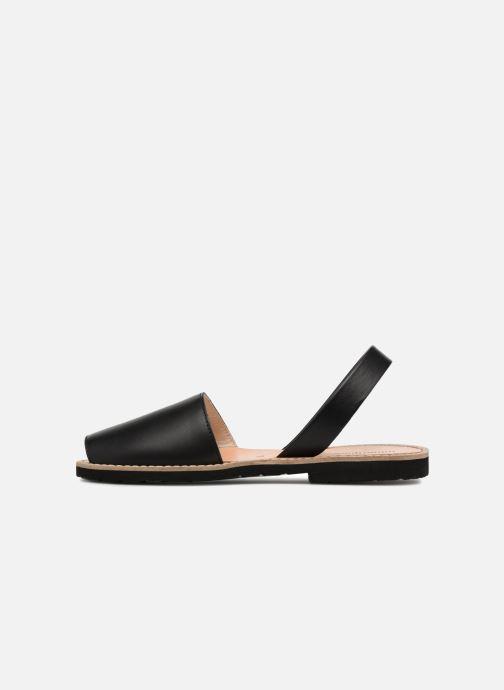 Sandali e scarpe aperte MINORQUINES Avarca Nero immagine frontale