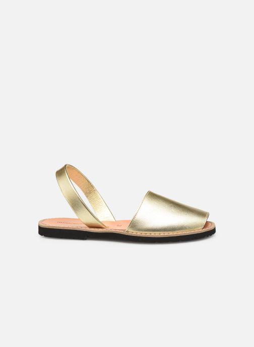 Sandales et nu-pieds MINORQUINES Avarca Or et bronze vue derrière