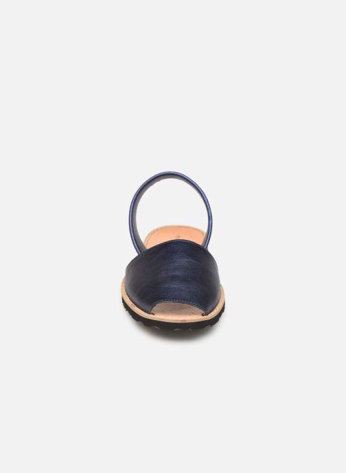 Sandalen Minorquines Avarca blau schuhe getragen