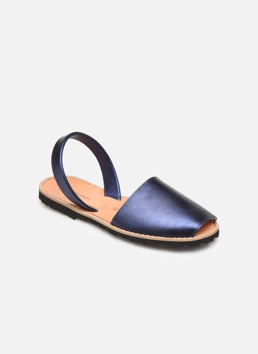 Sandalen MINORQUINES Avarca Blauw detail
