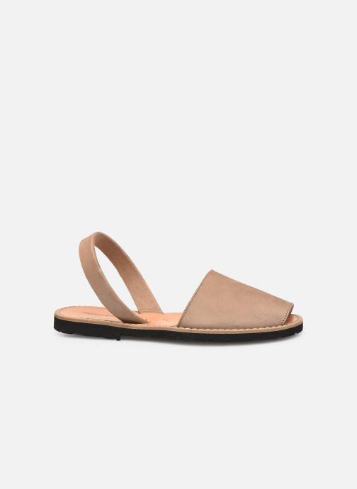 Sandali e scarpe aperte Minorquines Avarca Beige immagine posteriore