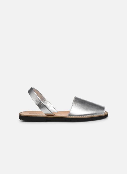 Sandali e scarpe aperte Minorquines Avarca Argento immagine posteriore