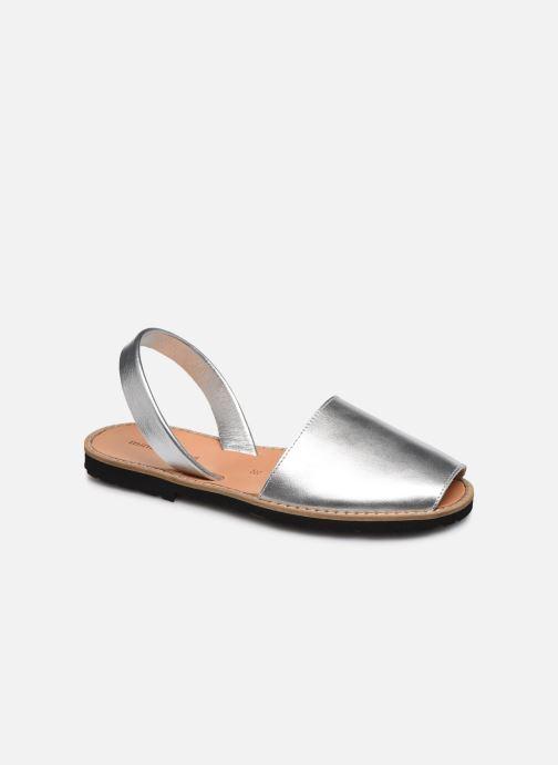Sandalen Minorquines Avarca silber detaillierte ansicht/modell