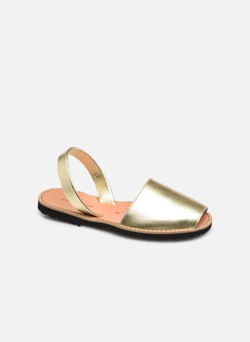 Sandalen Minorquines Avarca gold/bronze detaillierte ansicht/modell