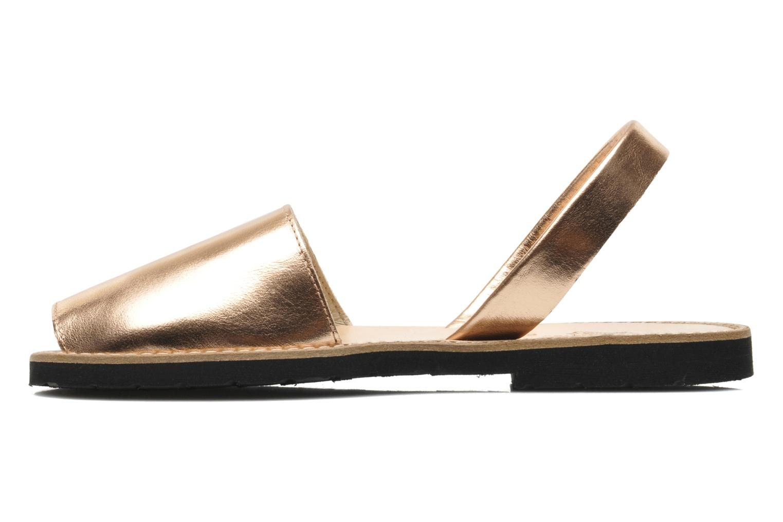 Sandales et nu-pieds MINORQUINES Avarca Rose vue face