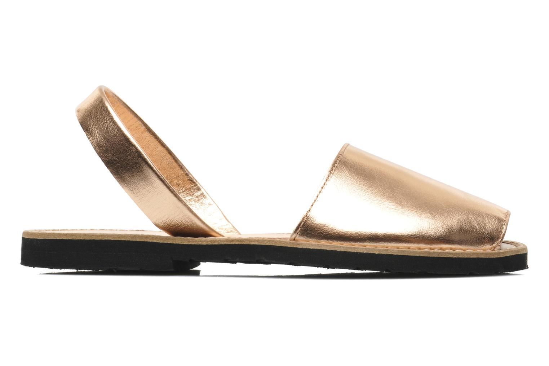 Sandales et nu-pieds MINORQUINES Avarca Rose vue derrière