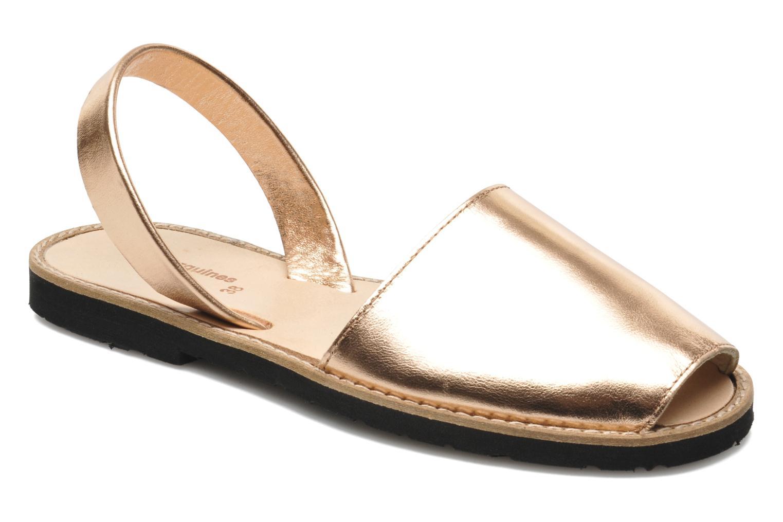 Sandales et nu-pieds MINORQUINES Avarca Rose vue détail/paire