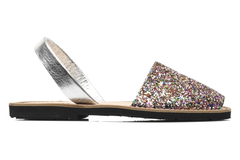 Sandals MINORQUINES Avarca Multicolor back view