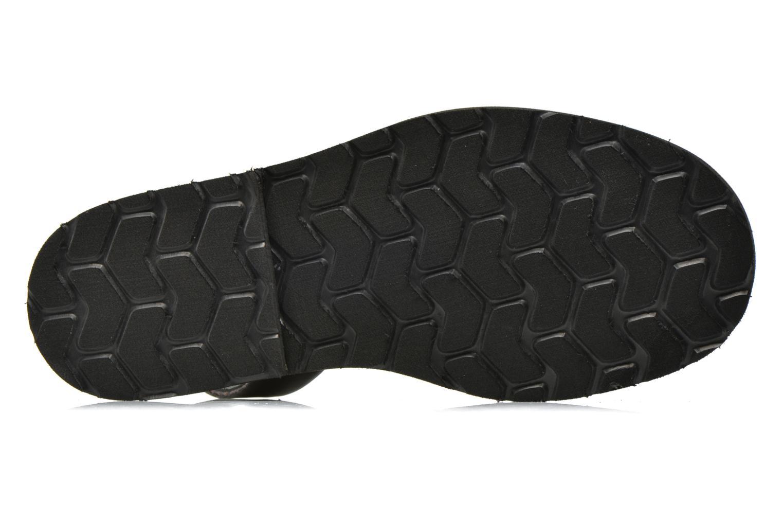 Sandales et nu-pieds MINORQUINES Avarca Noir vue haut