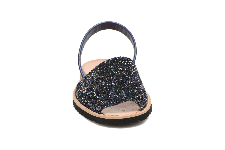Sandals MINORQUINES Avarca Blue model view
