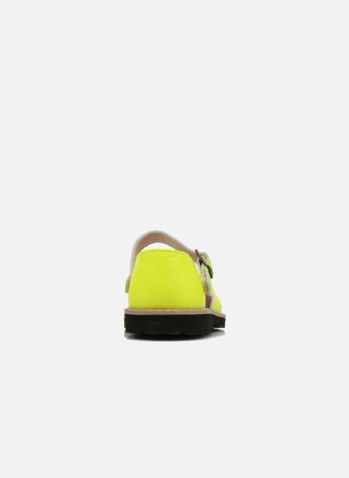 Sandales et nu-pieds Minorquines Frailera Jaune vue droite