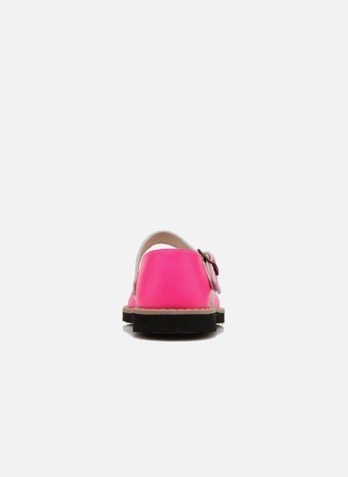 Sandales et nu-pieds MINORQUINES Frailera Rose vue droite
