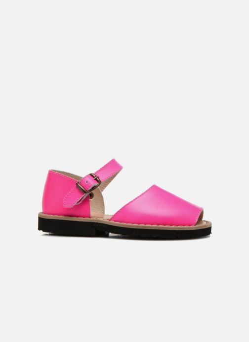 Sandales et nu-pieds MINORQUINES Frailera Rose vue derrière