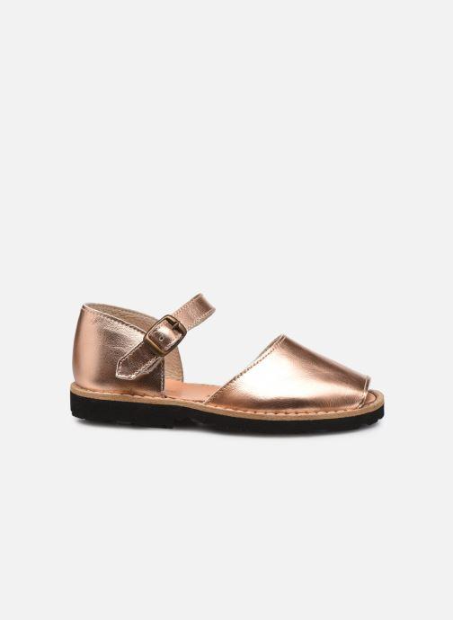 Sandales et nu-pieds MINORQUINES Frailera Or et bronze vue derrière