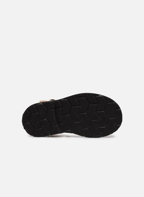 Sandales et nu-pieds MINORQUINES Frailera Or et bronze vue haut