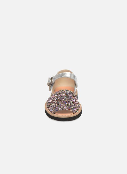 Sandales et nu-pieds Minorquines Frailera Multicolore vue portées chaussures