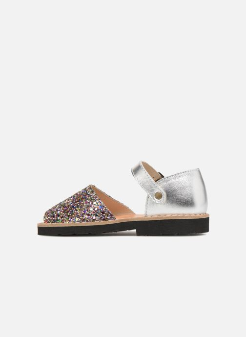 Sandales et nu-pieds Minorquines Frailera Multicolore vue face