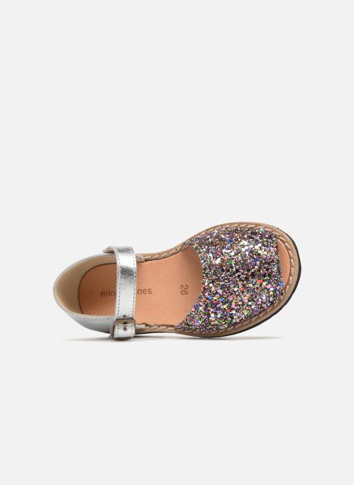 Sandales et nu-pieds Minorquines Frailera Multicolore vue gauche