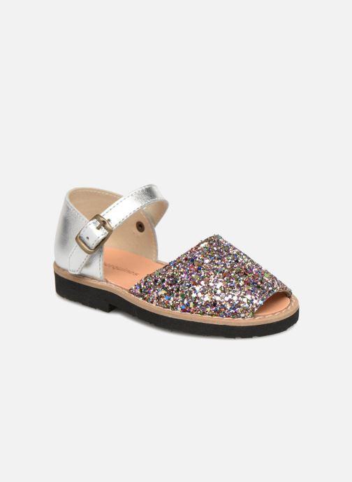 Sandales et nu-pieds Minorquines Frailera Multicolore vue détail/paire