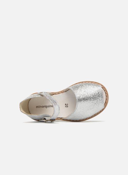 Sandales et nu-pieds MINORQUINES Frailera Argent vue gauche