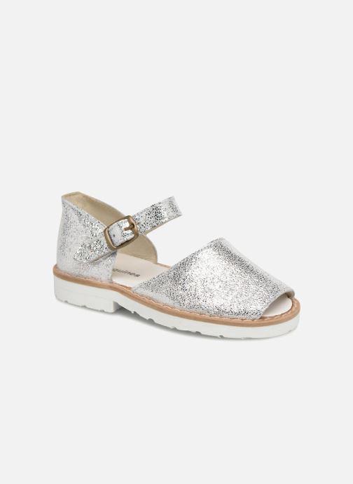 Sandales et nu-pieds MINORQUINES Frailera Argent vue détail/paire
