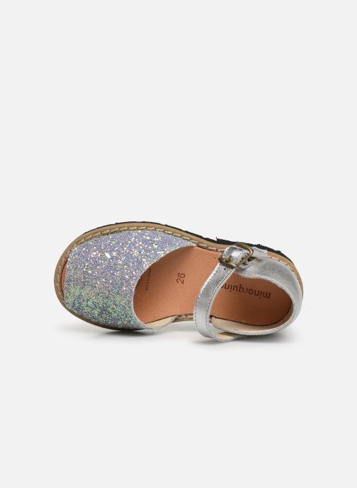 Sandali e scarpe aperte Minorquines Frailera Azzurro immagine sinistra