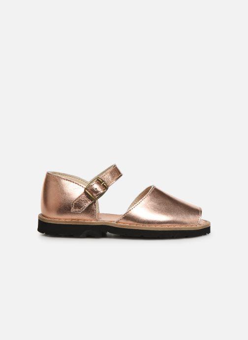 Sandales et nu-pieds Minorquines Frailera Argent vue derrière