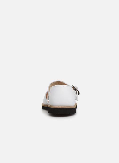 Sandali e scarpe aperte Minorquines Frailera Bianco immagine destra