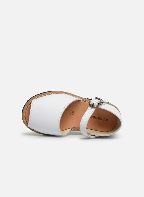 Sandali e scarpe aperte Minorquines Frailera Bianco immagine sinistra