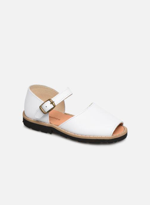 Sandales et nu-pieds MINORQUINES Frailera Blanc vue détail/paire