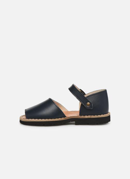 Sandales et nu-pieds MINORQUINES Frailera Bleu vue face