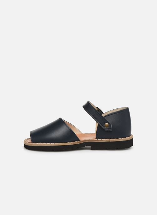 Sandali e scarpe aperte Minorquines Frailera Azzurro immagine frontale
