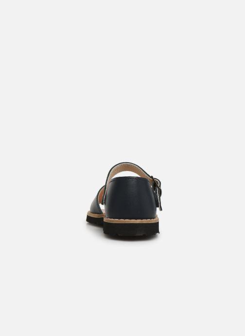 Sandales et nu-pieds MINORQUINES Frailera Bleu vue droite