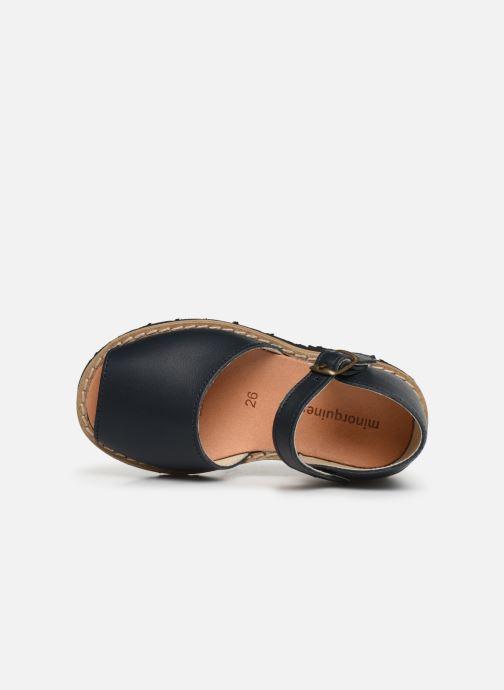 Sandales et nu-pieds Minorquines Frailera Bleu vue gauche