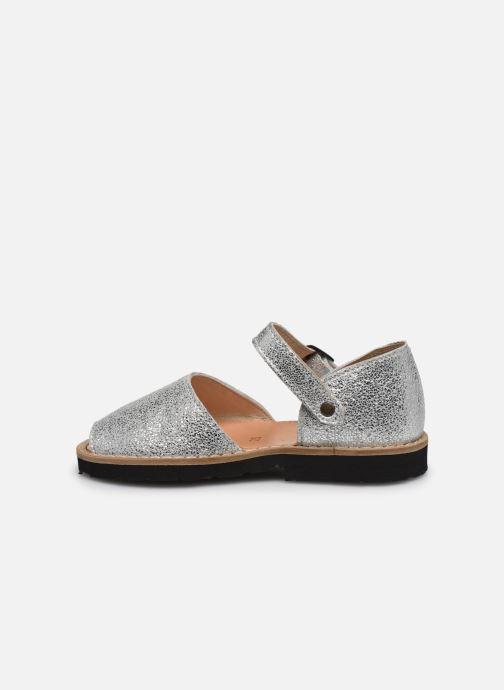 Sandali e scarpe aperte Minorquines Frailera Argento immagine frontale